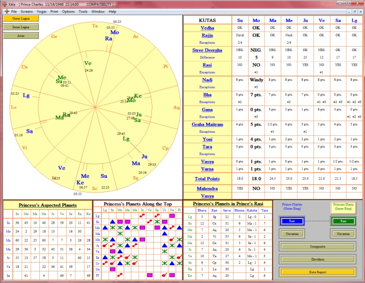Refined Professional Astrology Software