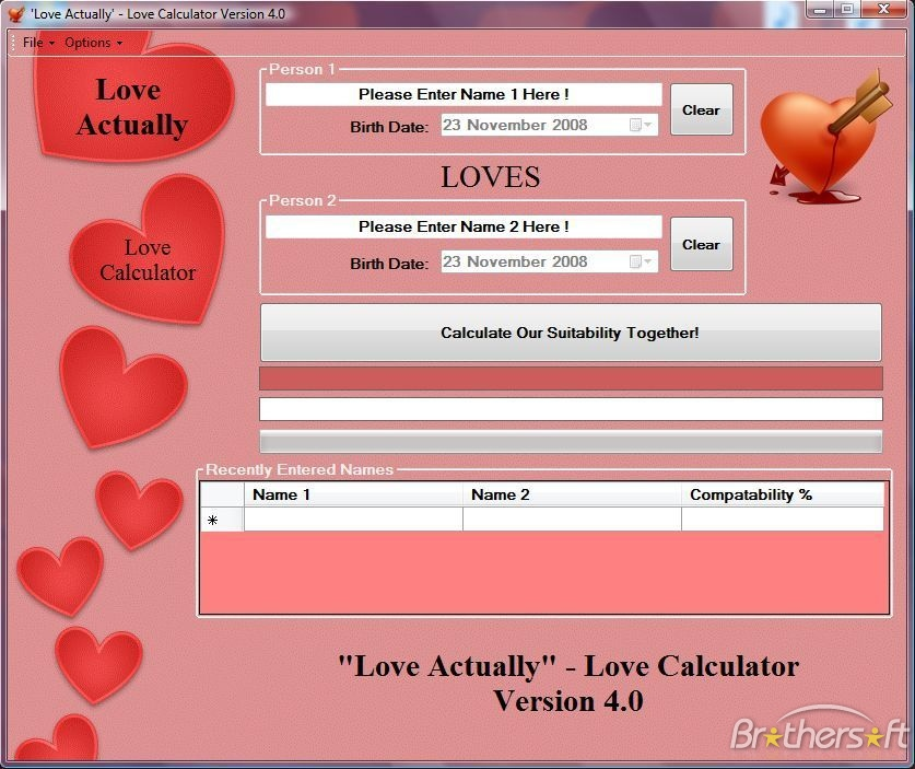 Accurate Love Calculator Astrology
