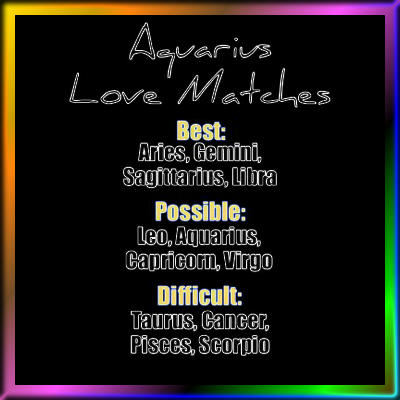 Decent Aquarius Love Horoscope