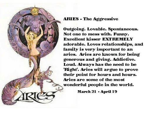 Great Aries Horoscope
