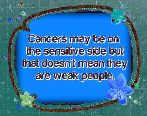 Cool Cancers Horoscope