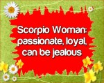 Woman Horoscopes For Scorpio