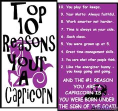 Top 10 reason Capricorn Monthly Horoscope