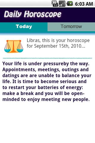 Get Horoscope Libra Today