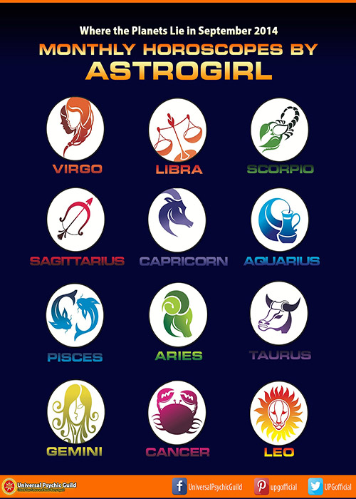 Colored Horoscopes Monthly