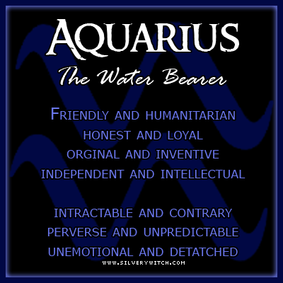 Water Aquarius Horoscope